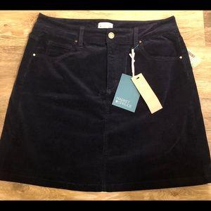Market & Spruce Corduroy Skirt